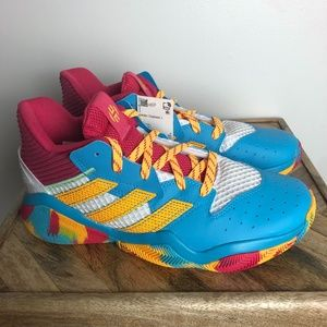 Adidas Harden Step-Back Signal Cyan Shoes FY2983